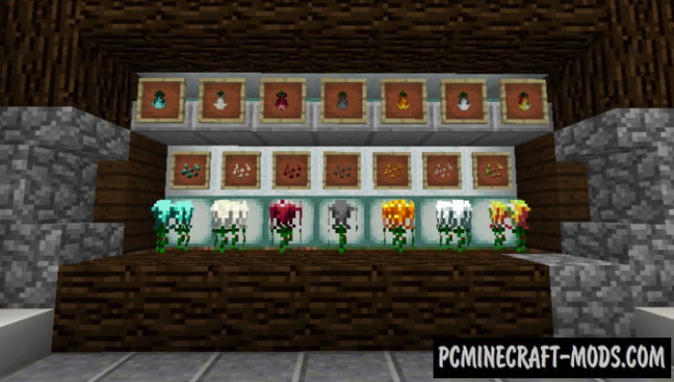Croparia - Farm, Weapons Mod For Minecraft 1.16.5, 1.12.2