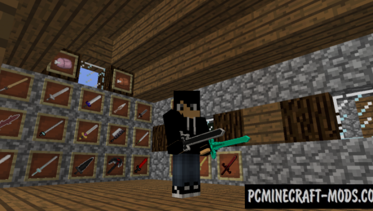 MoreSwordOnline Mod For Minecraft 1.12.2, 1.11.2