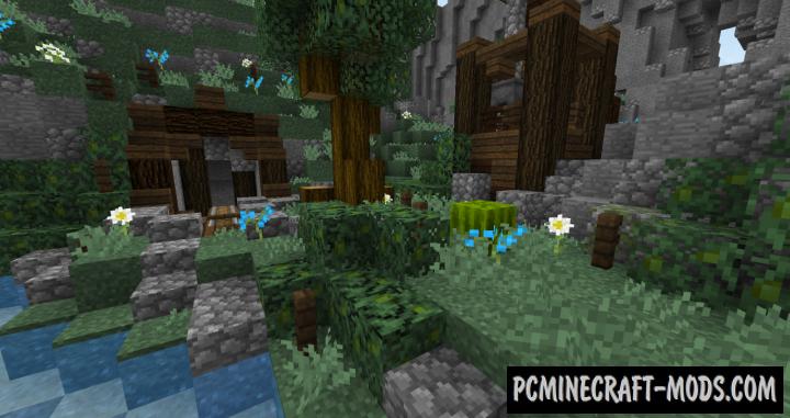 BetterVanillaBuilding Resource Pack For Minecraft 1.13.1