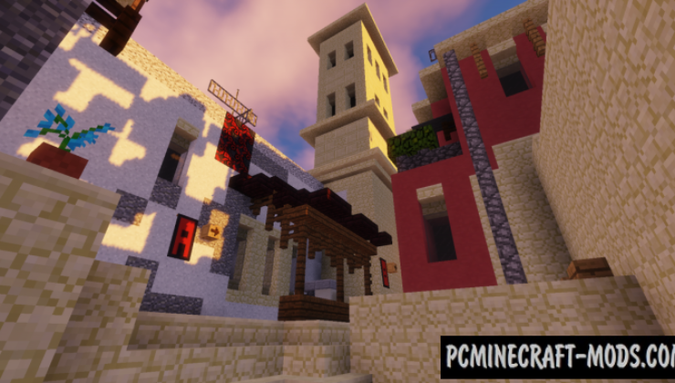 Mirage [CS:GO] Map For Minecraft