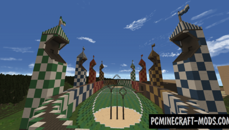 Hogwarts Castle & Grounds Map For Minecraft