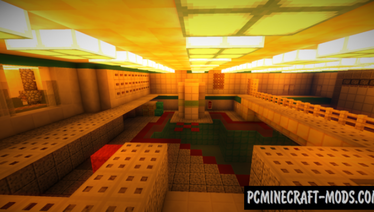 Nuke New Map For Minecraft