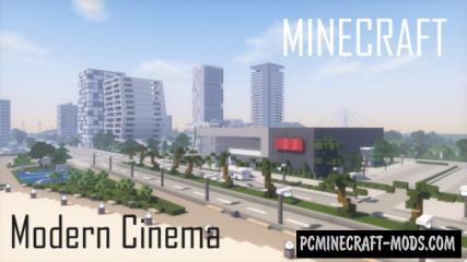Modern Cinema Map For Minecraft