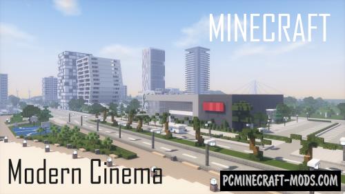 Modern Cinema Map For Minecraft 1 16 2 1 15 2 Pc Java Mods