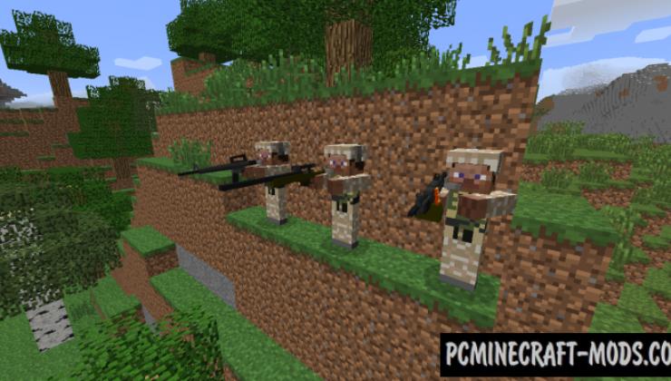 World War 3 Mod For Minecraft 1.7.10