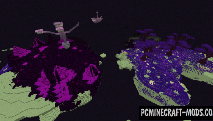 Stygian End: Biome Expansion Mod For Minecraft 1.12.2