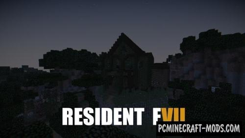 Resident evil 7 Map For Minecraft