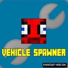 MrCrayfish's Vehicle Spawner Mod For Minecraft 1.12.2