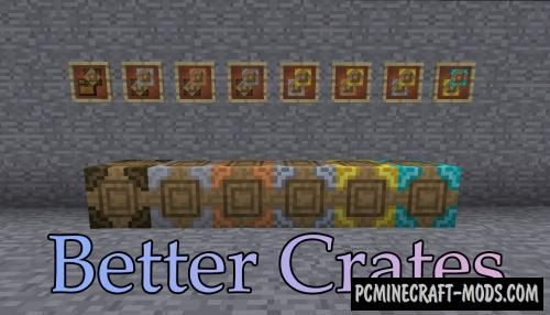Better Crates Mod For Minecraft 1.12.2