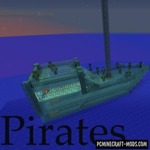 Pirates Mod For Minecraft 1.12.2