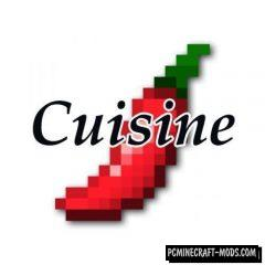 Cuisine - Food Mod For Minecraft 1.12.2