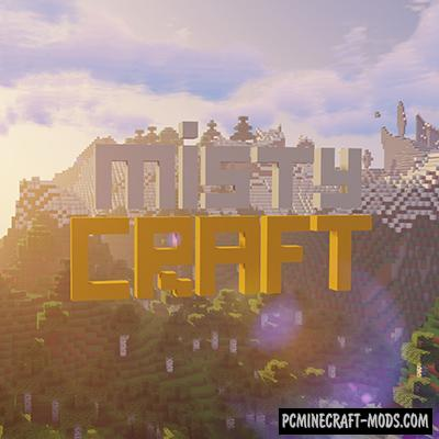 MistyCraft Resource Pack For Minecraft 1.13.2, 1.12.2