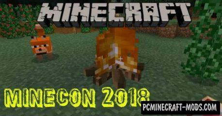 Biome Chooser Minecon 2018 Minecraft PE Addon 1.11, 1.10, 1.9.0