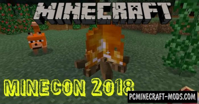 Biome Chooser Minecon 2018 Minecraft PE Addon 1.7, 1.6, 1.5