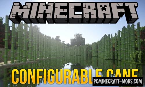 Configurable Cane - Food Farm Mod 1.17.1, 1.16.5, 1.15.2, 1.14.4