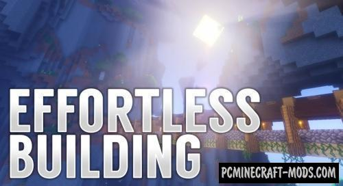 Effortless Building - Construction Mod For MC 1.14.4, 1.12.2