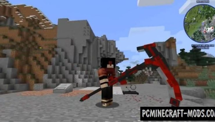 RWBY Models Mod For Minecraft 1.12.2, 1.11.2, 1.10.2