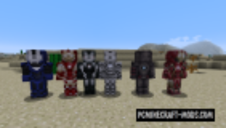 IronMan Mod For Minecraft 1 12 2, 1 7 10 | PC Java Mods
