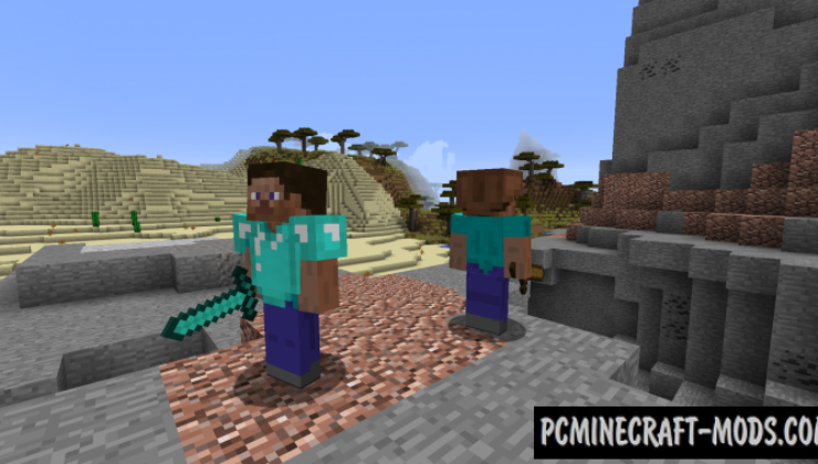 Humans Mod For Minecraft 1.12.2