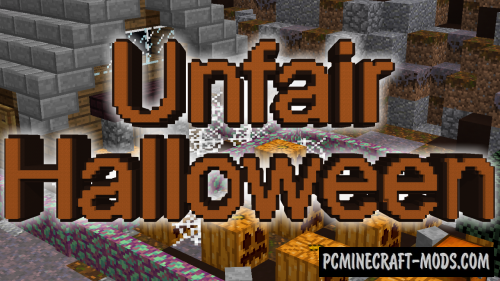 Unfair Halloween Map For Minecraft