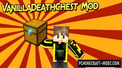 Vanilla Death Chest - Surv Mod For MC 1.16.5, 1.16.4, 1.12.2