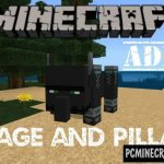 Weapons Mod - DesnoGuns For Minecraft PE Bedrock 1.9.0, 1.8.0, 1.7.0