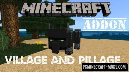 Village and Pillage Update Mod/Addon For Minecraft PE 1.11, 1.10, 1.9.0