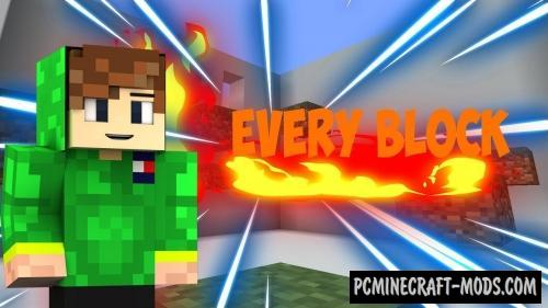 Every Block Map For Minecraft