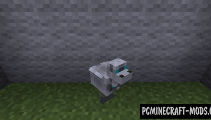Futuristic Robotics Mod For Minecraft 1.12.2