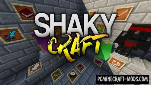 ShakyCraft Resource Pack For Minecraft 1.13.1
