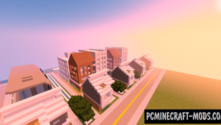 Mini Modern City Map For Minecraft