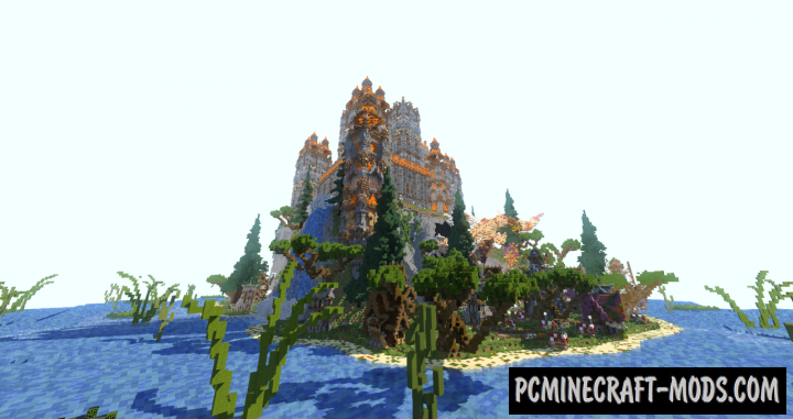 An Amazing Island Map For Minecraft