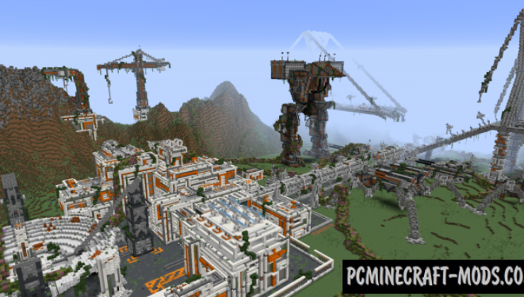Overgrowth Map For Minecraft