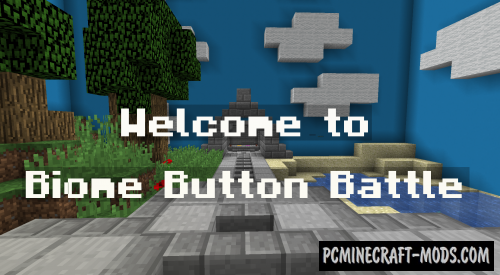 Biome Button Battle Map For Minecraft