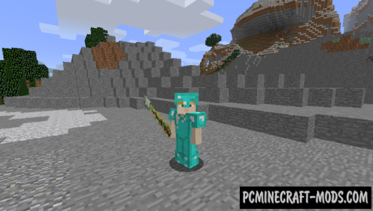 Legendary Weapons Mod For Minecraft 1.12.2