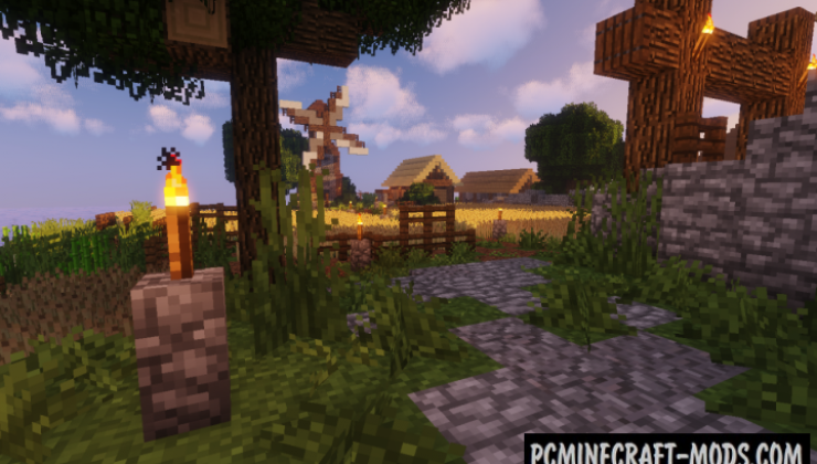 Better Nature Resource Pack For Minecraft 1.13.2