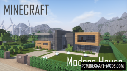 Modern House 3 Map For Minecraft