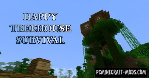 minecraft treehouse maps