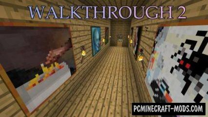 WalkThrough 2 Map For Minecraft