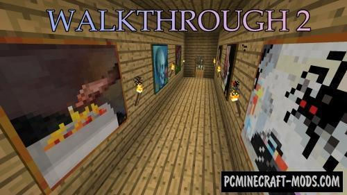 WalkThrough 2 Map For Minecraft