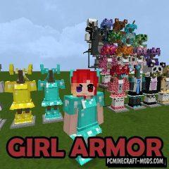 Girl Armor - Armor Mod For Minecraft 1.15.2, 1.14.4