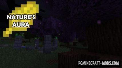 Nature's Aura - Technology Mod For Minecraft 1.15.2, 1.14.4