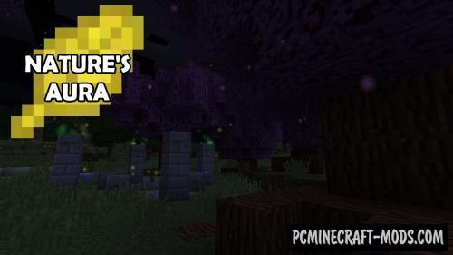 Nature's Aura - Technology Mod For Minecraft 1.15.2, 1.14.4