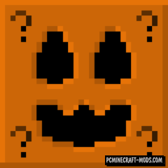 Halloween - LuckyBlocks Mod For Minecraft 1.14.4, 1.12.2