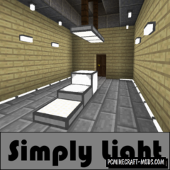Simply Light - Furniture Mod For Minecraft 1.16.3, 1.15.2, 1.14