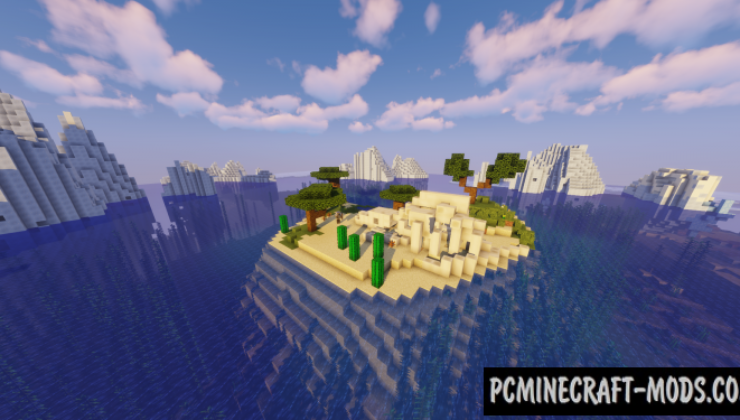 Aquatic Disaster Map For Minecraft