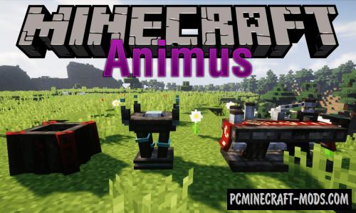 Animus - GUI, HUD Mod For Minecraft 1.12.2