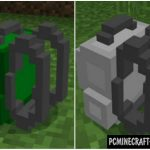 Lucky Block Green Minecraft PE Mod/Addon 1.11, 1.10
