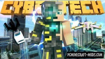 CyberTech Command Block For Minecraft 1.13.2