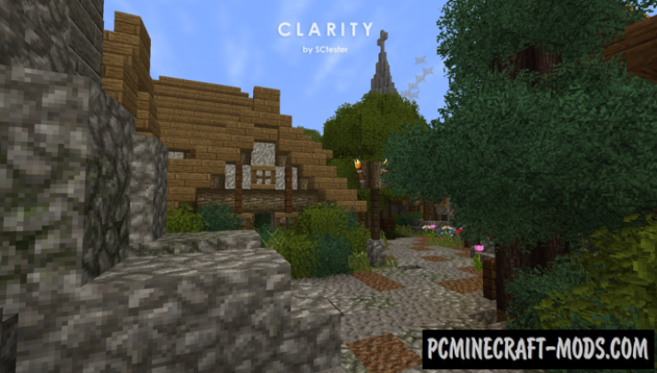 Clarity 32x Resource Pack For Minecraft 1.16.4, 1.16.3, 1.15, 1.14